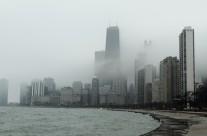 Chicago Cloudy Skyscraper